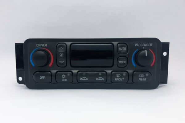 front view of a 1997-2004 Chevy Corvette Climate Control