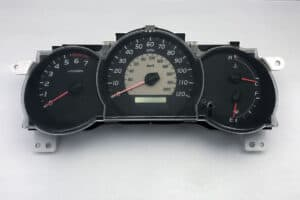 front view of a 2005-2011 Toyota Tacoma Instrument Cluster