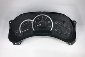 front view of 2003-2006 Cadillac Escalade Instrument Cluster