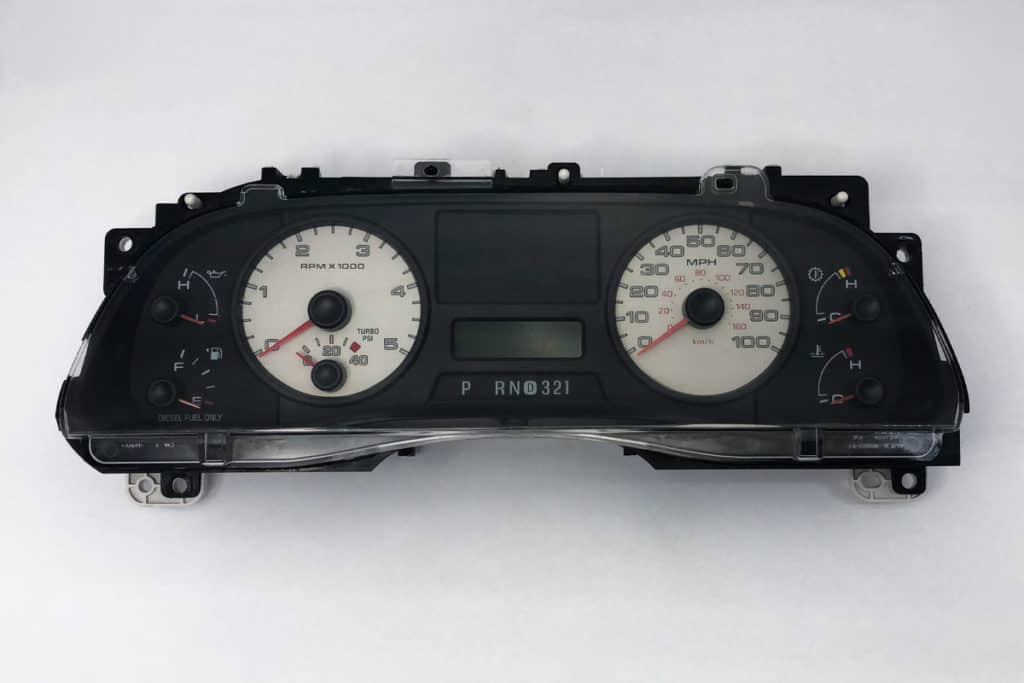 2008 ford f150 instrument panel