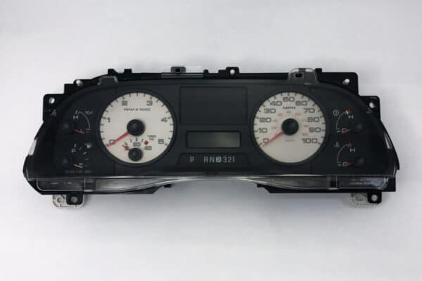 front view of a 2004-2008 Ford F250 Instrument Cluster