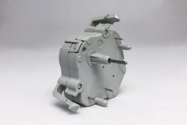 Side View of Gray Import Stepper Motor