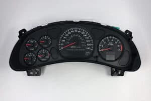 front view of 2000-2006 Chevy Impala Instrument Cluster