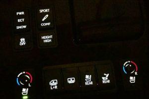 Lexus LS460 Interior Switch Lighting Repair