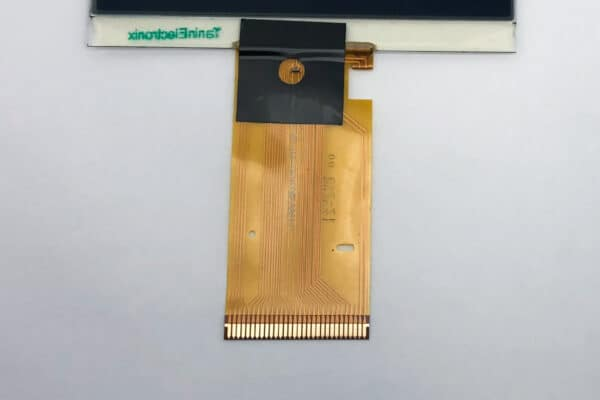 back view of ribbon cable for a Mercedes C Class W203 LCD Screen