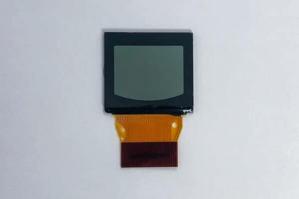 front view of a Nissan Quest LCD Screen with Bonded Ribbon V2