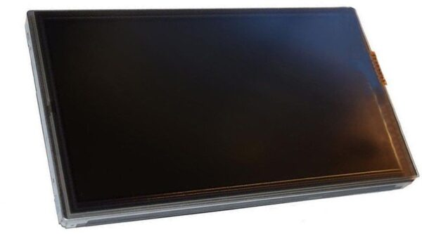 front view of a 2009-2014 Toyota Camry, Prius Navigation LCD & Digitizer Assembly