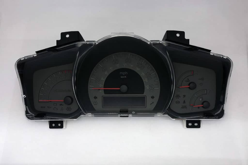front view of a 2006-2008 Honda Ridgeline Instrument Cluster
