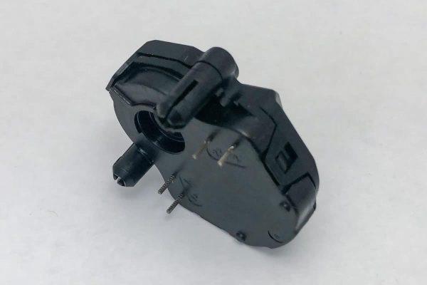 Side view of Sonceboz 6403R200 Stepper Motor