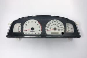 front view of a 2000-2004 Toyota Tacoma Instrument Cluster