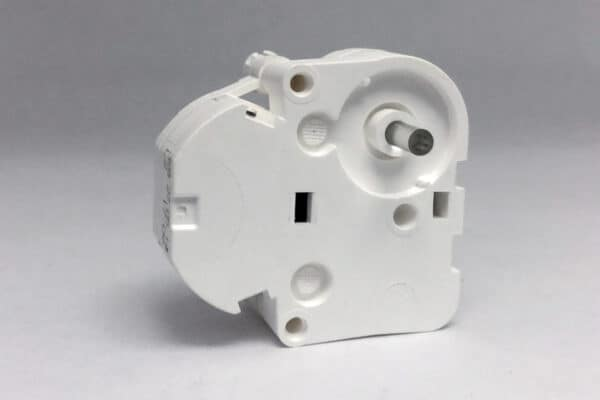 Front view of VDO stepper motor with plastic shaft