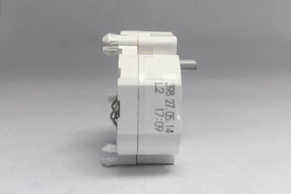 Side view of VDO stepper motor with plastic shaft