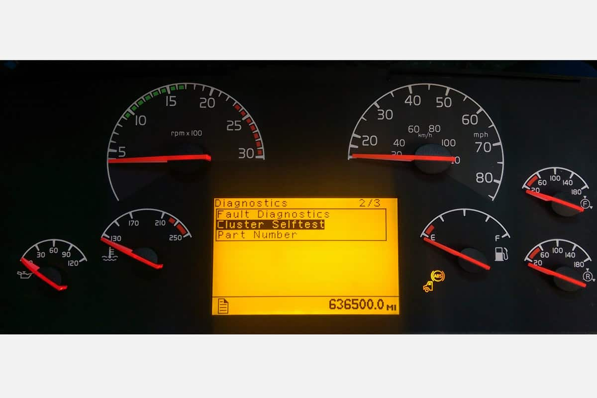 Volvo Instrument Cluster Gauge Repair Service You ship to us we Repair /& Return