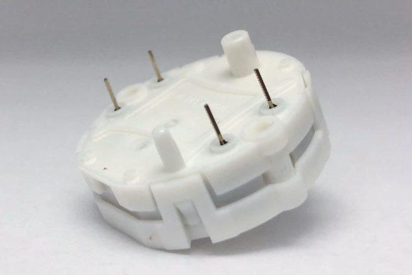 Side view of X27.168 Switec Juken stepper motor