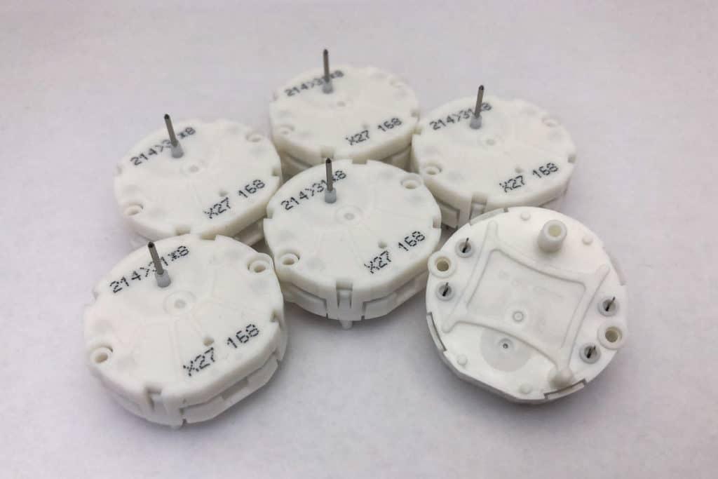 Six X27.168 Switec Juken stepper motors