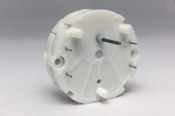 Back view of X27.589 Switec Juken stepper motor