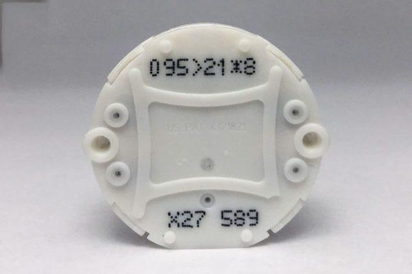 Front view of X27.589 Switec Juken stepper motor