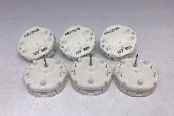 Six of X27.589 Switec Juken stepper motors