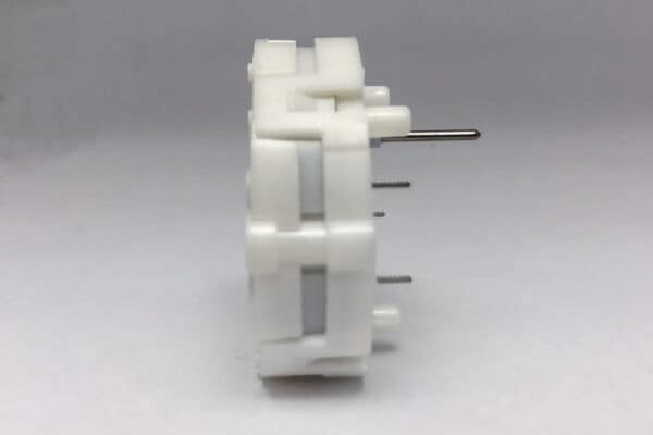 Side view of X27.589 Switec Juken stepper motor