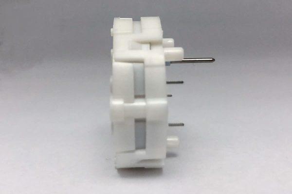 Side view of X27.589 Switec Juken stepper motor