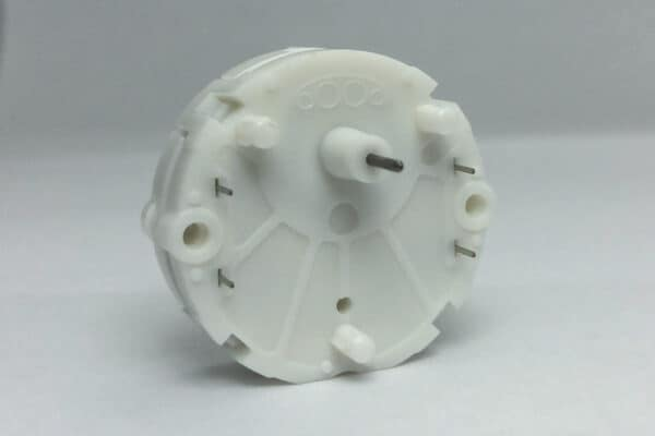 Back view of X27.689 Switec Juken Stepper Motor commonly used for Ducati and Moto Guzzi instrument clusters
