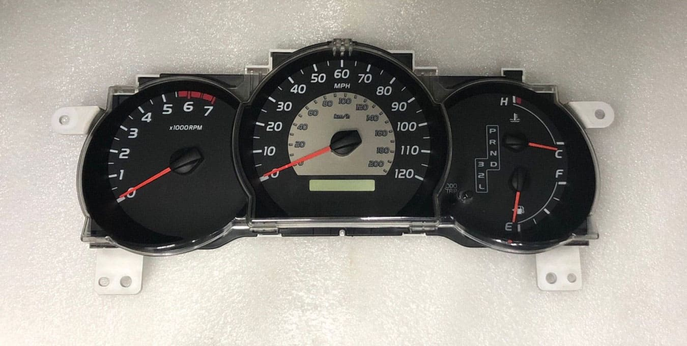 replacement instrument cluster for a 2005 Toyota Tacoma