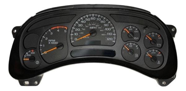 GM Truck Instrument Cluster