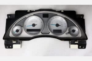 front view of a 2002-2007 Buick Rendezvous Instrument Cluster (10330864)