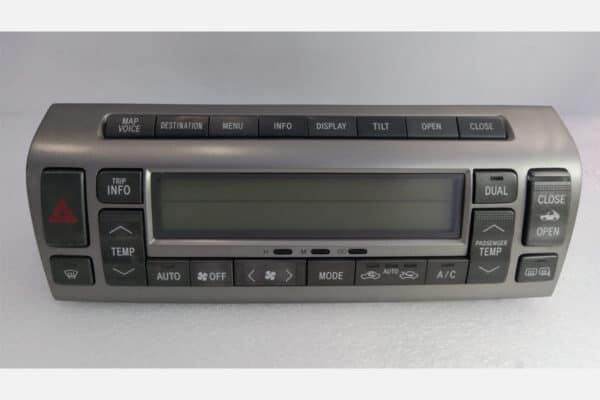installed 2002-2009 Lexus SC430 Climate Control Anti-Glare Screen Protector