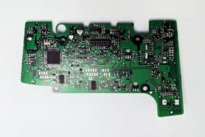 back view of a TAE Audi A6 & Q7 MMI Control Circuit Board E380