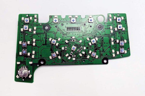 front view of a TAE Audi A6 & Q7 MMI Control Circuit Board E380