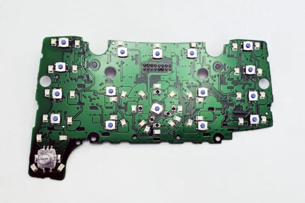 front view of a 2010-2014 Audi Q7 3G MMI Control Circuit Board