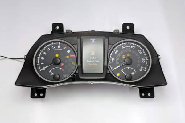 2016-2017 Toyota Tacoma Instrument Cluster powered on