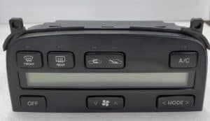 1992-2000 Lexus SC300/SC400 Climate Control TAE LCD Cover Replacement