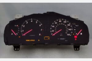 2001 - 2003 Lexus LS430 Red Needles Cluster