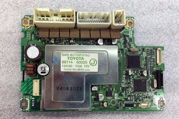 2004 2005 2006 Lexus LS430 Navigation LCD circuit board front 86114-60020