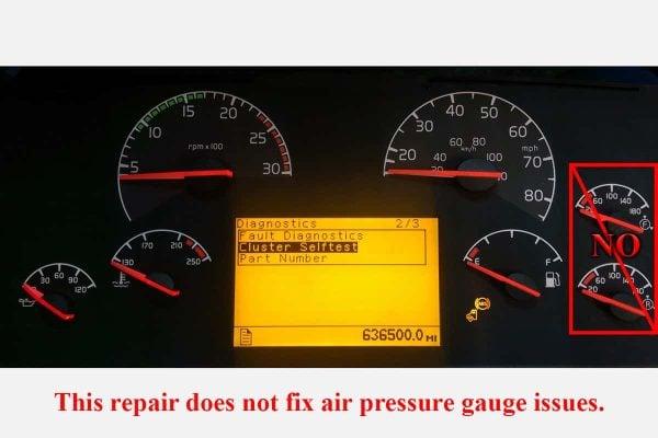 2003+ Volvo VNL Semi Air pressure no fix