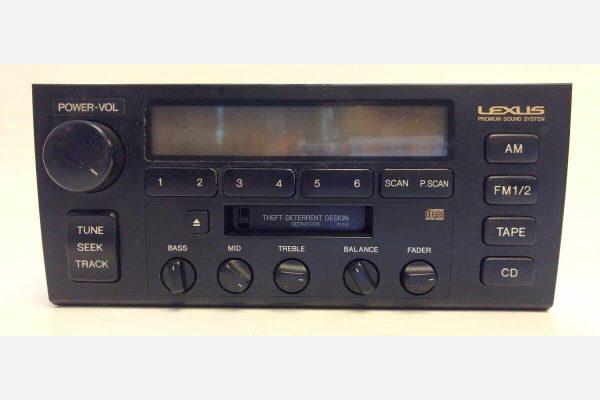 1995 – 1997 LEXUS LS400 PIONEER RADIO LCD REPAIR