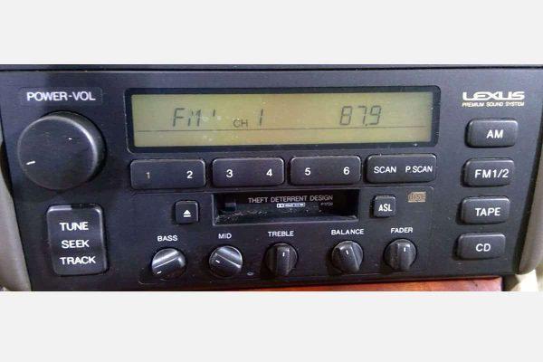 1998 – 2000 LEXUS LS400 PIONEER RADIO LCD REPAIR