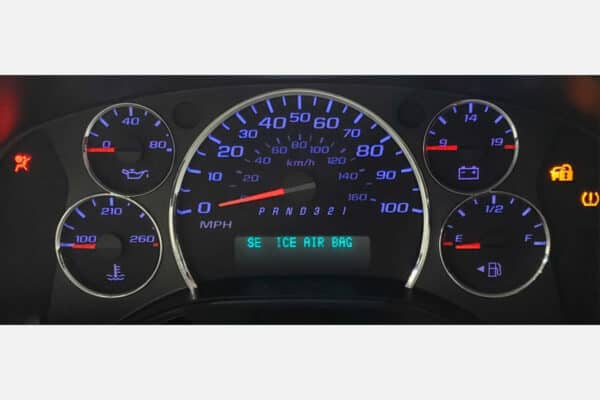 2008-2010 Chevy Express LED Cluster upgrade