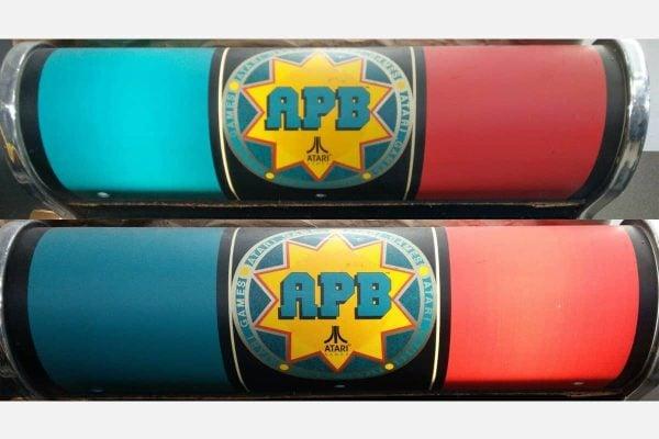 Atari APB All Points Bulletin Arcade REPRO TRIAC Replacement Board for Light Marquee