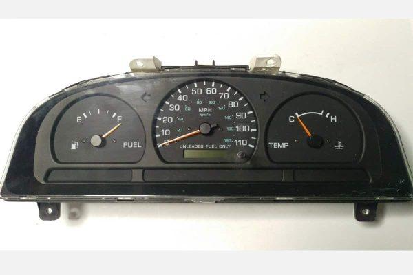 1998 - 1999 Nissan Frontier Instrument Cluster MT NO TACH 24810-7B407