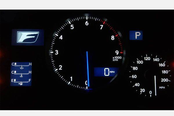 2011 - 2014 Lexus IS-F ISF Speedometer Gauge Cluster US MPH or CA KPH