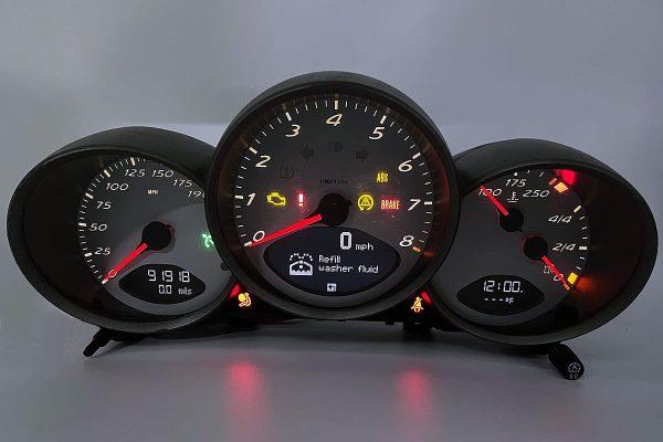 TAE 2005 - 2012 Porsche 911 & Cayman Instrument Cluster LCD Screen